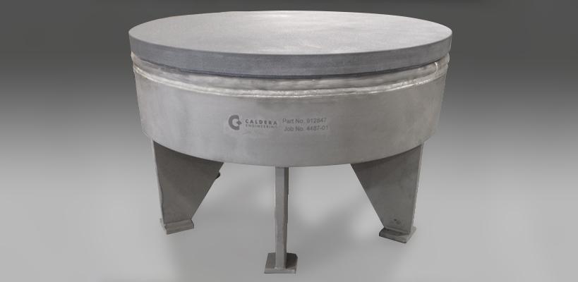 Caldera Impingement Block, 32 inch, Reaction Bonded SiC