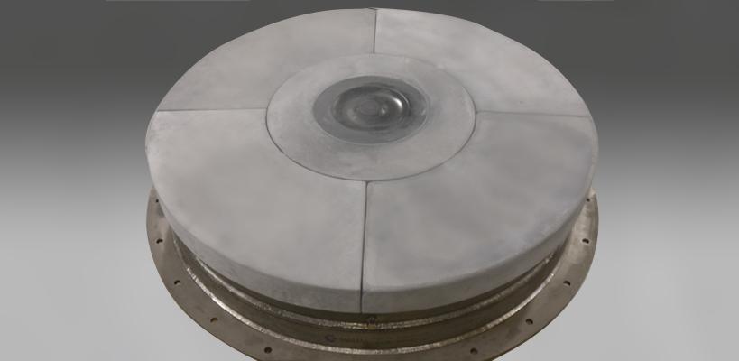 Caldera Impingement Block, 48 inch, modular design, pan retrofit